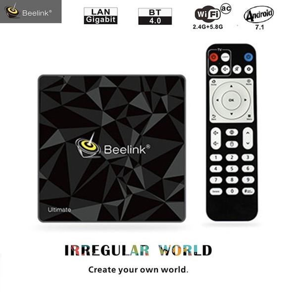 Beelink GT1 Ultimate Smart TV Box Android 7.1 3G 32G Amlogic S912 Octa Core 4K HD TV BoX 5G WiFi Smart Set Top Box Media Player