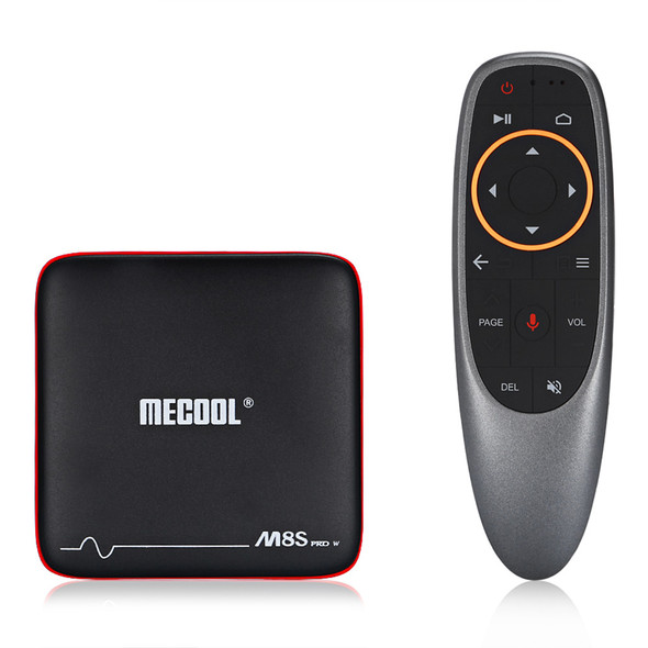 Mecool M8S PRO W Smart TV Box Android 7.1 Amlogic S912 2G 16G H.265 Bluetooth Media Player Set-Top Box With Voice Remote Control