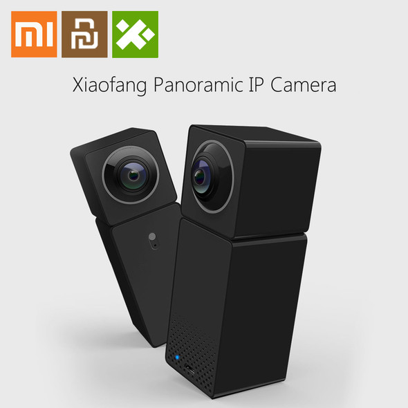 Original Xiaomi Xiaofang Dafang 1080P Smart IP Camera 360 Angle WIFI Panoramic Dual Lens Camera Smart Home Security Monitor