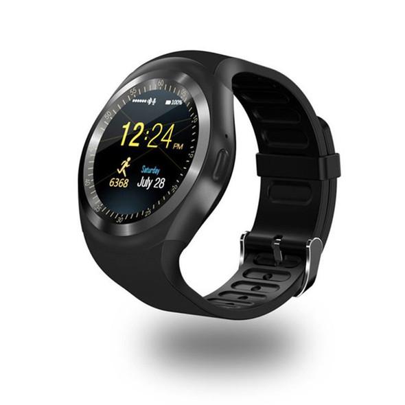 696 Bluetooth Y1 Smart Watch Relogio Android Smartwatch Phone Call SIM TF Camera