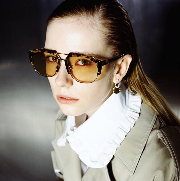 Fashion Irregular Half Frame Style Sunglasses Eyewear Men Women Cool Brand Design Vintage Sun Glasses