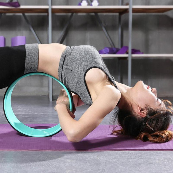 Yoga Circles Pilates Professional Waist Shape Bodybuilding ABS Gym Workout Yoga Wheel Back Training Tool For Fitness