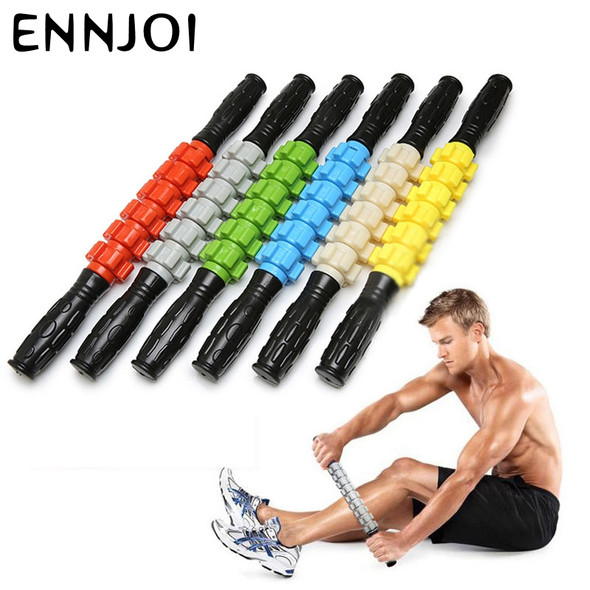 520mm/430mm Travel portable Yoga massage stick Exercise fitness roller muscle therapy Myofascial Trigger point for back leg body