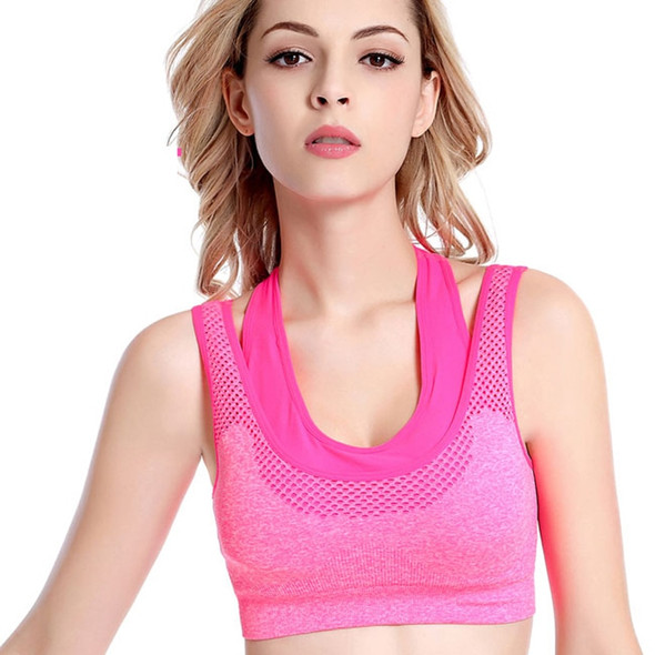 Profession Shockproof Women's Sport Bra Push Up With Pad Brassiere Gym Crop Sports Yoga Bra Top Sport For Fitness