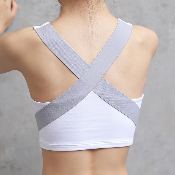 Women's Sports Bra Yoga Running Vest Gym Shirt Fitness Push Up Tank Top Breathable Quick Dry Sports Bra For Girls