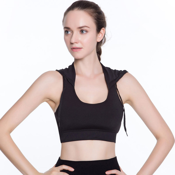 Hooded Running Yoga Bra Women Brand Sport Bras With Pad Top Sports Hall Top Fitness Top Sports For Womens Activewear