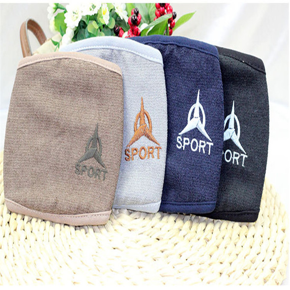 10pcs/Bags New Autumn And Winter Cotton Embroidery Warm Winter Mask