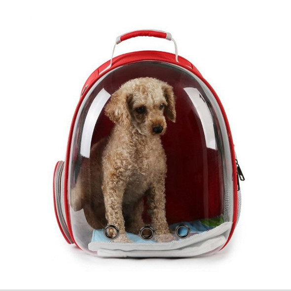 new transparent pet backpack Transparent Breathable Puppy Cat Bag Top Quality Fashion Dog Outdoor Carrier Bag Pet Products