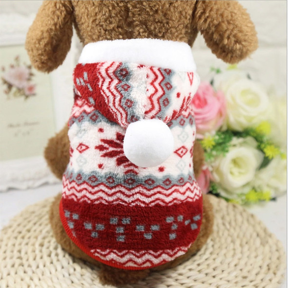 Classical Security Dog Clothes Chihuahua Puppy Hoodie Fleece Warm Autumn Winter Dog Jacket XS-XXL