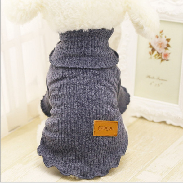 New Pet Dog Winter Sweater Teddy Dog Chihuahua Doll Jacket Clothes Puppy Sweater Skirt Casual Dress Comfortable Warm