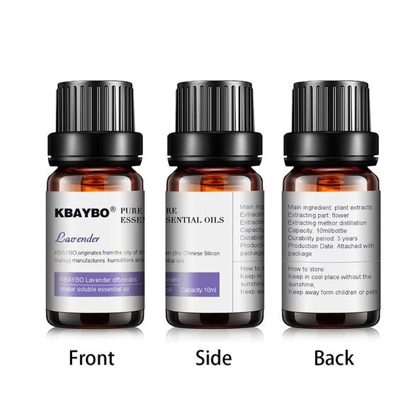 10ml*6bottles Pure essential oils for aromatherapy diffuserslavender tea tree lemongrass tea tree rosemary Orange oil