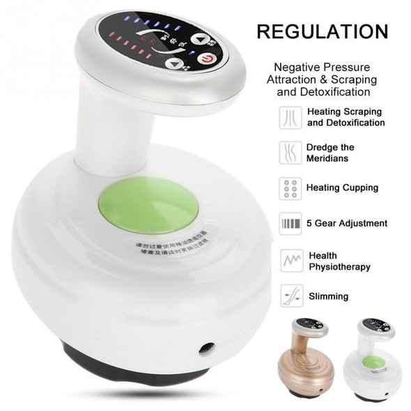 EMS Negative Pressure Massager Heating Vibration Magnetic Therapy Electric Body Scraping Cupping Lymphatic Drainage Machine Kits
