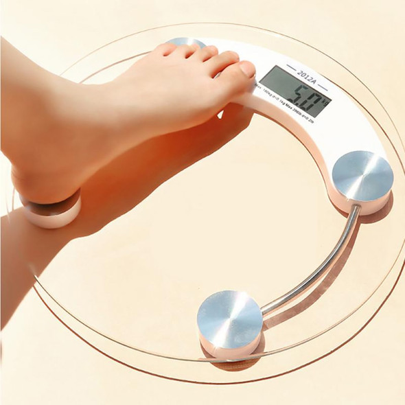 180/0.1KG Smart Bathroom Floor Body Fat Scale Glass Household LCD Display Digital Human Body Weight Balance Scales
