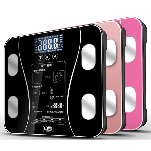 Bathroom Body Weight Scale Scales Glass Smart Household Electronic Digital Floor Weight Balance Bariatric LCD Display