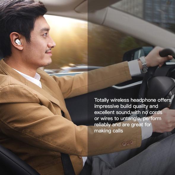 K6H TWS True Wireless Earbuds Earphones Mini Twins Headset Stereo Bluetooth Earphone Wireless Headphones with 1100mAh Box