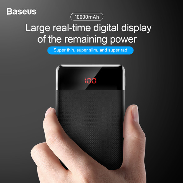 10000mAh Power Bank Dual USB LCD Powerbank Slim Poverbank Portable External Battery Pack Charger For Mobile Phone