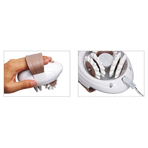 3D Electric Full Body Slimming Massager Roller For Weight Loss & Fat Burning & Anti-Cellulite Relieve Tension