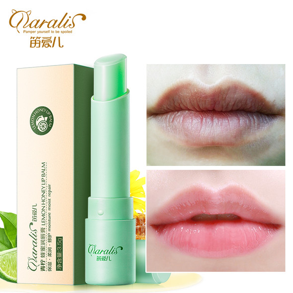 3.5g Lime Extract Moisturizing Lip Balm Baby Chapstick Anti Aging Natural Moisturizing Nourishing Repair Wrinkle for Lips Care