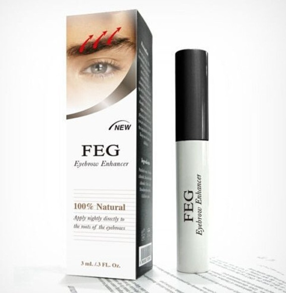 Eyebrow Enhancer Waterproof For Eyebrow Growth Makeup Brand FEG Make up Eye Brow Pencil Treatments Longer Thicker Cosmetics Set