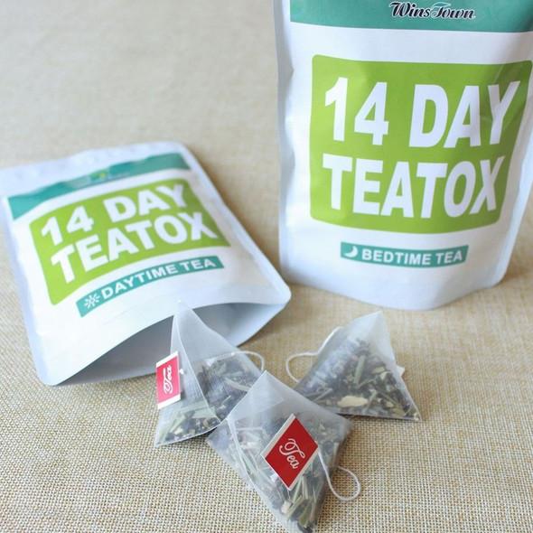 14 Days Natural Fat Burner Buring Tea Weight Loss Tea Herbal Skinny Teatox Tea for Weight Losing Sliming