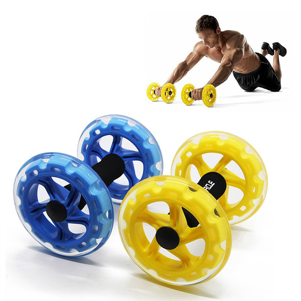 Procircle Ab Wheels Abdominal Exercise Rollers For Core Trainer Strength Exercise Crossfit Gym Body Fitness Double-Wheeled