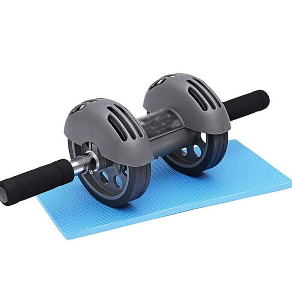 Sport Abdominal Wheel Muscle Trainer Gymnastic Ab Roller With Mat Press For Exercise Fitness Machine Workout