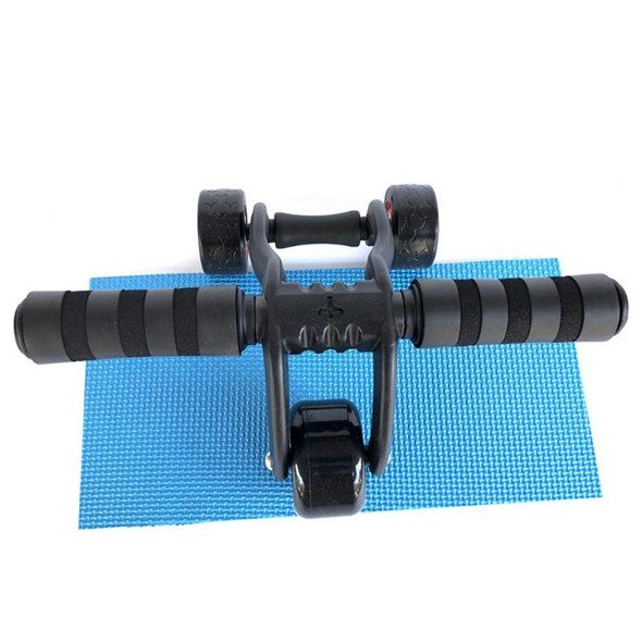 3-Wheel Power Wheel Triple AB Abdominal Wheel Home Gym Abs Workout Exercise Roller Fitness Equipment Comprehensive Fitness Tool
