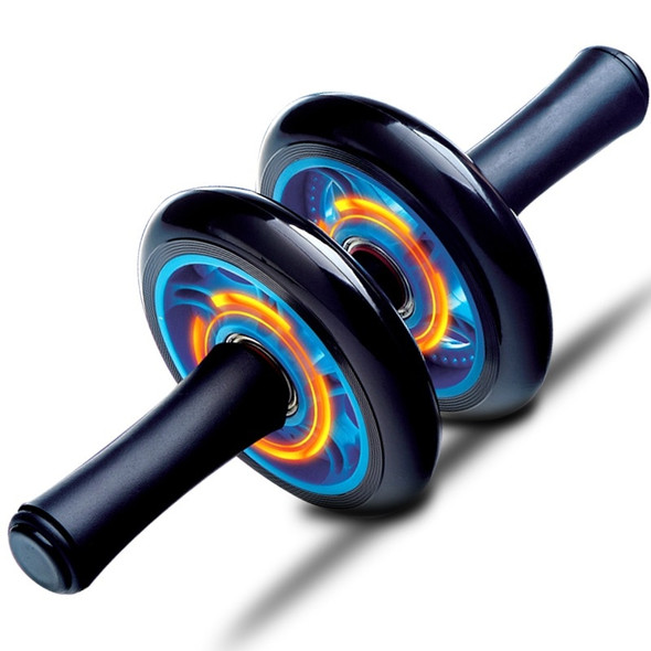 Premium ABS Metal Bearing Double Wheels Roller Coaster Belly Exercise Strength Training Rollers gym fitness