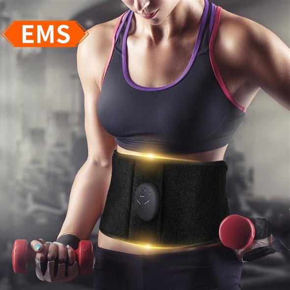 EMS Trainer Waist Trimmer Belt-Adjustable Belly Fat Abdominal Weight Loss Belt Sweat Belt Waist Trainer Belt-Sport Reduction