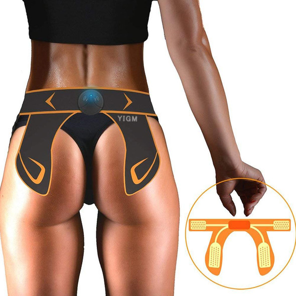 USB Rechargeable Hips Muscle Trainer Unisex EMS Hip Lifting Waist Slimming Trainer Smart Buttock Massage Body Relax Massager
