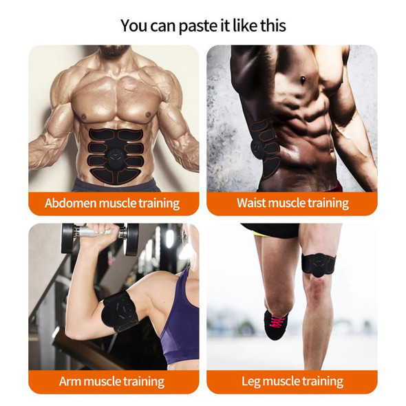EMS muscle stimulator wireless smart ABS trainer fitness training electric fat burner bweight loss massage belt