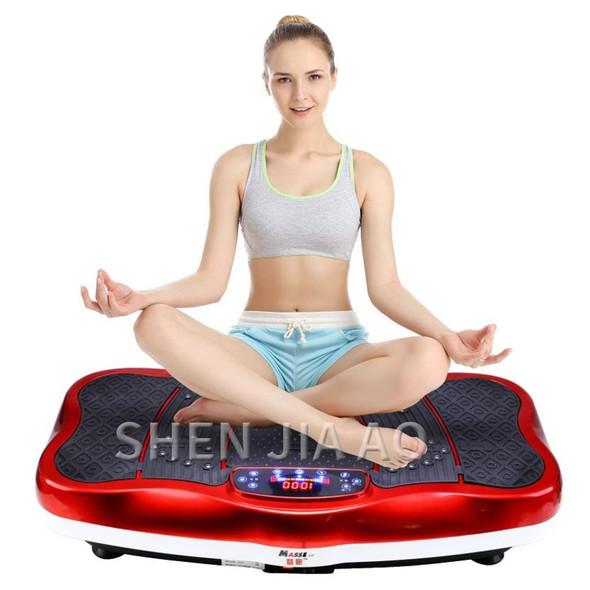 body vibration platform Exercise vibration plate board Slimming machine fat burning muscle massager weight loss machine fitness