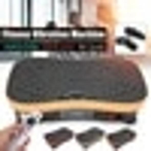 220V 500W Vibration Machine Exercise Platform Massager Body Fitness Remote