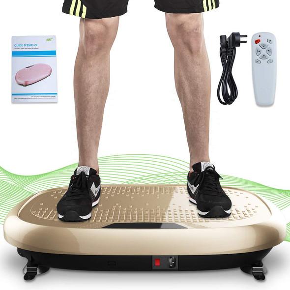Fitness Machine Whole Full Body Shape Exercise Machine Vibration Plate Fit Massage Workout Trainer Vibration Platform