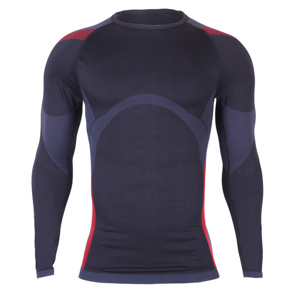Thermal Winter Men Sportswear Suit Compression Shirts Pants Under Base Layer Fitness Sets Long Sleeve Black Tracksuits