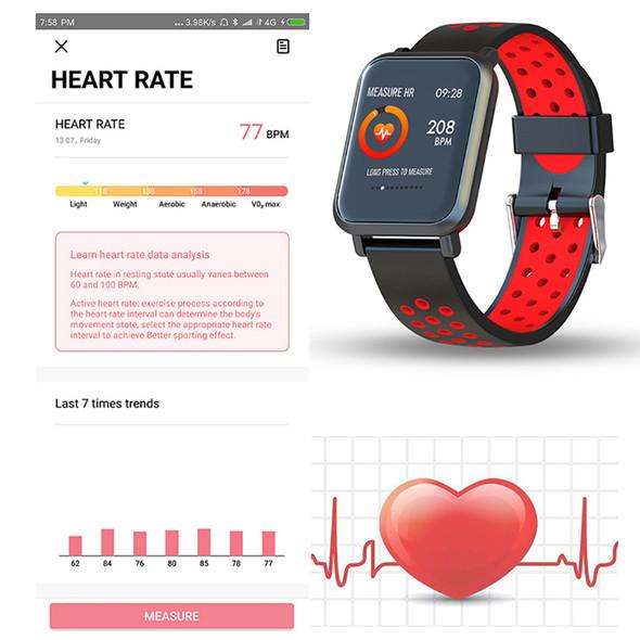 Smartwatch S9 2.5D OLED Screen Gorilla Glass Blood oxygen Blood pressure BRIM IP68 Waterproof Activity Tracker Smart Watch