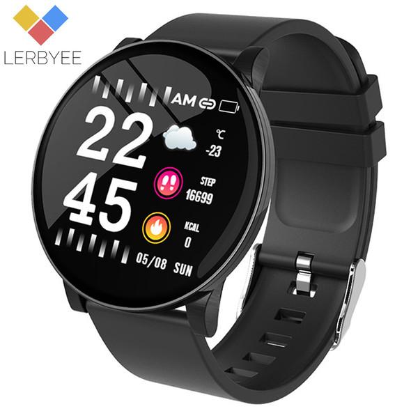 Smart Bracelet W8 Weather Forecast Heart Rate Monitor Waterproof IP67 Fitness Activity Tracker Sport IOS pk mi band 3