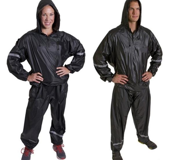 Jogging Sauna Suit Exercise Trainning Fat Burning Slimming Sportswear