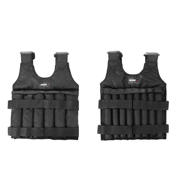 20 50Kg Max Loading Weighted Vest Boxing Training Thickening Exercise Running Waistcoat Durable Adjustable Weight Jacket