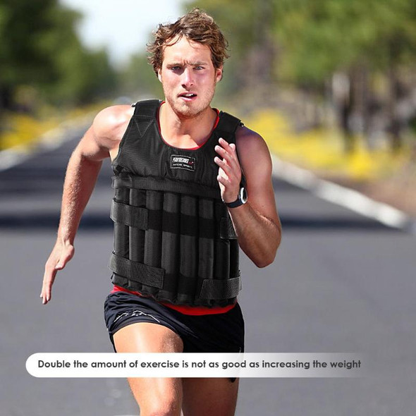 Durable Loading Weighted Vest Adjustable Weight Training Exercise Waistcoat Fitness Equipment workout Weight