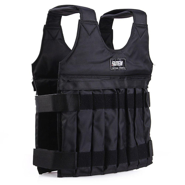20kg Max Adjustable Loading Weight Vest Exercise Fitness Boxing Training Equipment Exercise