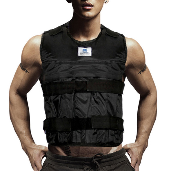 Weighted Vest Adjustable Weight Jacket Exercise Fitness Boxing Training