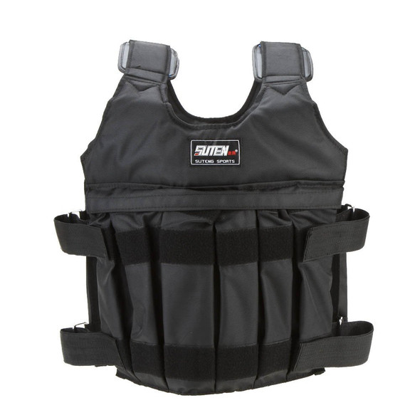 Max 50kg weight loading adjustable Weighted Vest Jacket boxing training exercise Invisible Weight loading vest sand clot