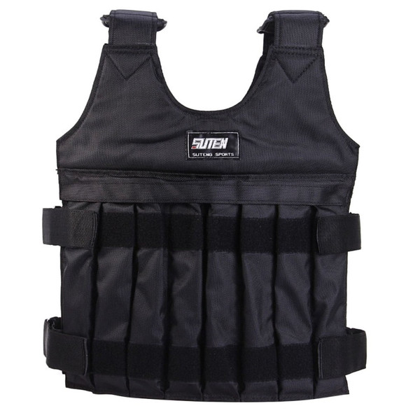 New Training  Weight Vest 10-20kg Max Adjustable Weight Jacket Weighted Vest Exercise Fitness Boxing