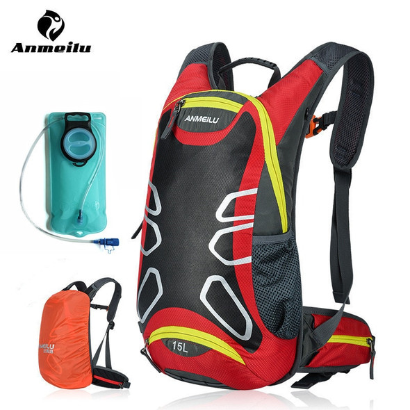 2L Water Bag 15L Hydration Backpack Waterproof Sport Cycling Climbing Outdoor Camping Bags Bladder