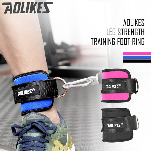 official Gym Weight Lifting Leg Strength Recovery Training Ankle Support Protector  Adjustable Ankle Guard Protector