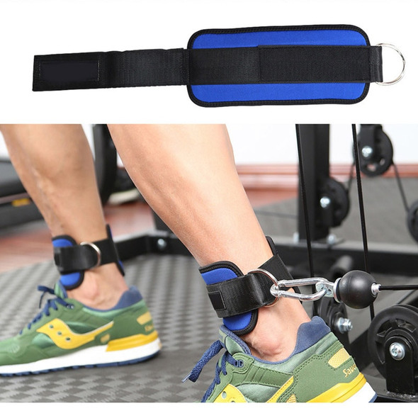 Adults Breathable Adjustable Ankle Weights Brace Support Protector Straps Belt with Buckle Gym Fitness Weightlifting Training
