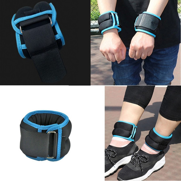 Resistance Ankle Wrist Weights Gym Fitness Wrist Weight Straps Sand Bag Weights Straps for Fitness Walking Jogging Workout