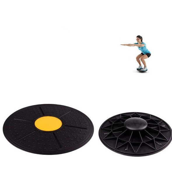 360 Degree Rotation Massage Balance Board Gym Exercise Physical Foot Loose Massage Board for Yoga Body Fitness