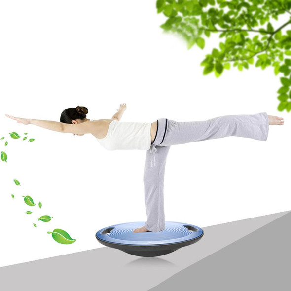Non-Slip Bottom And Top Balance Board With Side Handles For Yoga Fitness Coordinated Rehabilitation Training Therapy Gyro
